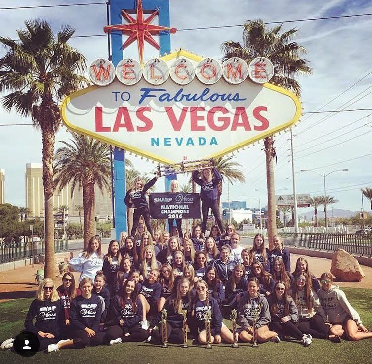 Pep+Squad+Takes+Las+Vegas