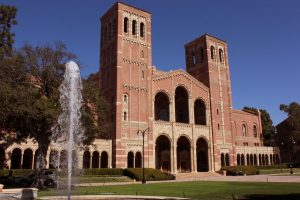 UCLA's Royce Hall is one destination that could await students who apply to UCs and Cal States.