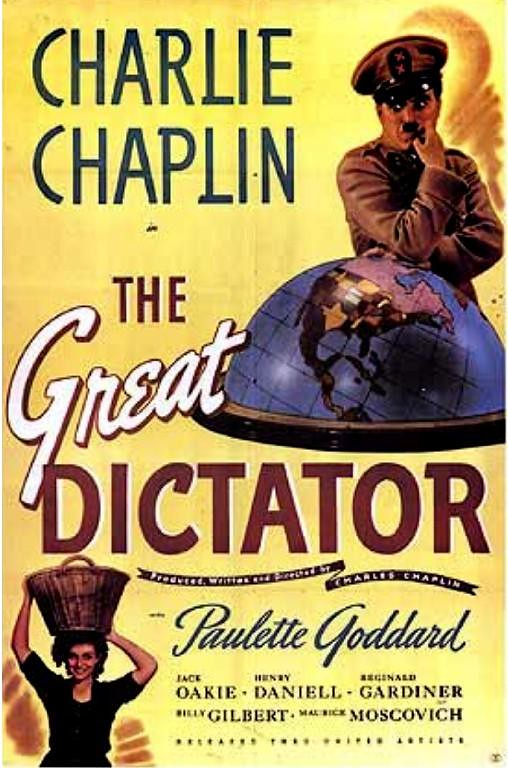 Charlie+Chaplin%27s+%22The+Great+Dictator%22+is+the+best+movie+Gauri+Patwardhan+watched+this+year.