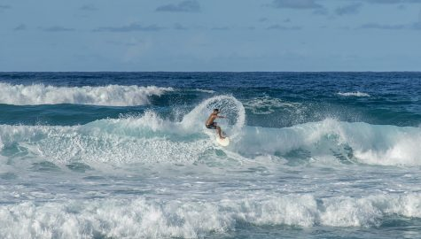 Pipeline in Oahu, Hawaii, is one of Will Green